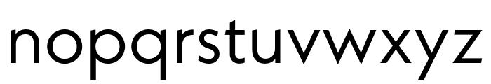 Neue Kabel Regular Font LOWERCASE