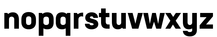 Neusa Next Std Compact Bold Font LOWERCASE