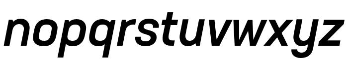 Neusa Next Std Compact Medium Italic Font LOWERCASE