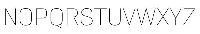 Neusa Next Std Compact Thin Font UPPERCASE