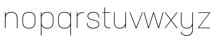 Neusa Next Std Compact Thin Font LOWERCASE