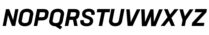 Neusa Next Std Condensed Bold Italic Font UPPERCASE