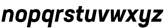 Neusa Next Std Condensed Bold Italic Font LOWERCASE