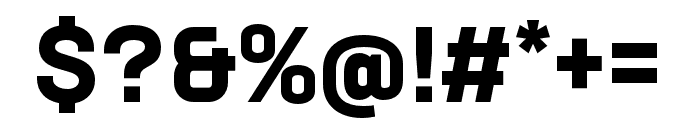 Neusa Next Std Condensed Bold Font OTHER CHARS