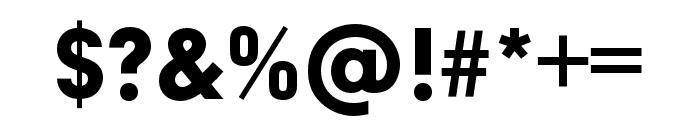 Neuzeit Grotesk ExtCond Black Font OTHER CHARS