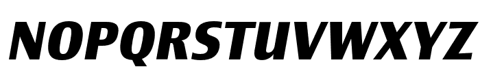 Newbery Sans Pro Bold It Font UPPERCASE