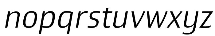Newbery Sans Pro Cd Light It Font LOWERCASE