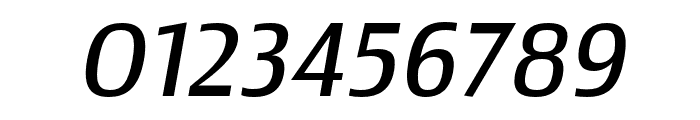 Newbery Sans Pro Cd Regular It Font OTHER CHARS