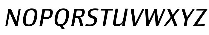 Newbery Sans Pro Cd Regular It Font UPPERCASE