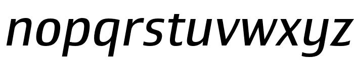 Newbery Sans Pro Cd Regular It Font LOWERCASE