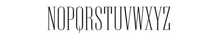 Niagara Thin Font UPPERCASE
