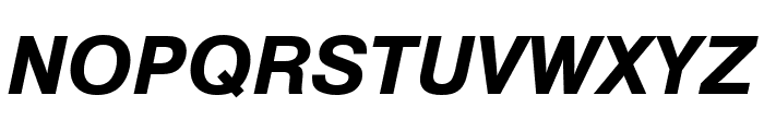 Nimbus Sans Bold Italic Font UPPERCASE