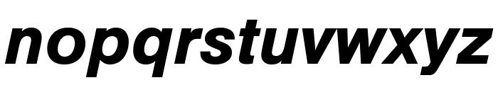 Nimbus Sans Cond L Bold Italic Font LOWERCASE
