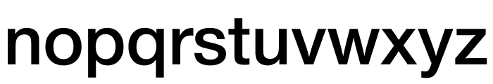 Nimbus Sans DV Medium Font LOWERCASE