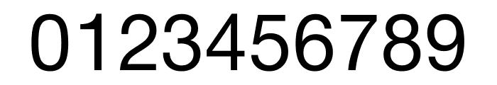 Nimbus Sans DV Regular Font OTHER CHARS
