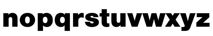 Nimbus Sans Outline Extd D Black Font LOWERCASE