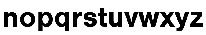 Nimbus Sans Round Bold Font LOWERCASE