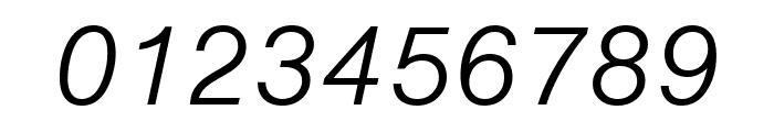 Nimbus Sans Round Light Italic Font OTHER CHARS