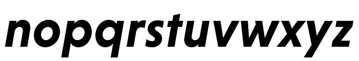 Niveau Grotesk Bold Italic Font LOWERCASE