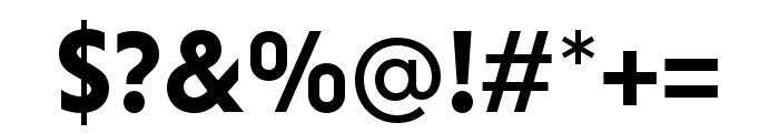 Niveau Grotesk Bold Small Caps Font OTHER CHARS