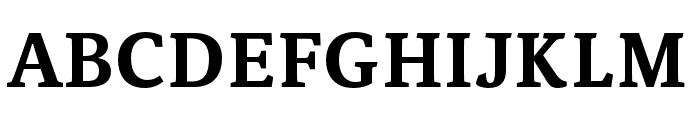 Noam Text Bold Font UPPERCASE