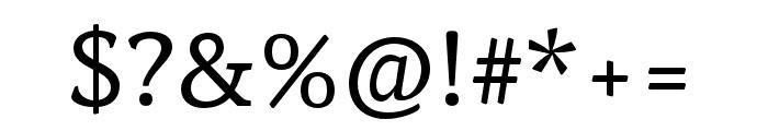 Noam Text Regular Font OTHER CHARS