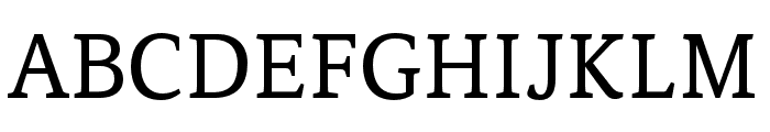 Noam Text Regular Font UPPERCASE