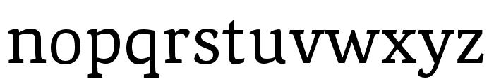 Noam Text Regular Font LOWERCASE