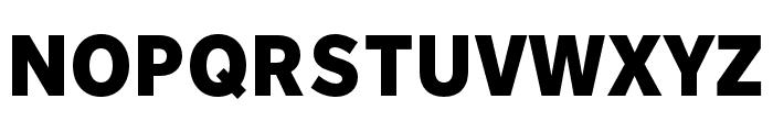 Nort Black Font UPPERCASE