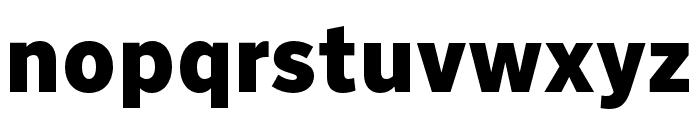 Nort Black Font LOWERCASE