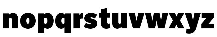 Nort Ultra Font LOWERCASE