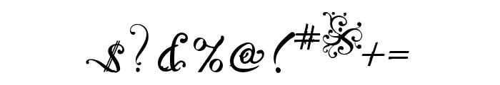 NotCaslon OT Two Font OTHER CHARS