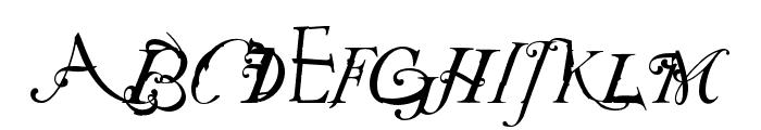 NotCaslon OT Two Font UPPERCASE
