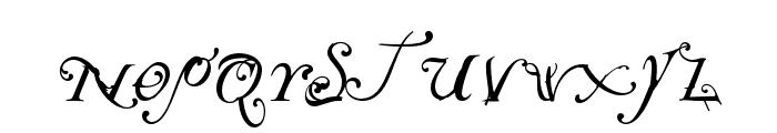 NotCaslon OT Two Font LOWERCASE