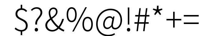 Noto Sans CJK KR Light Font OTHER CHARS