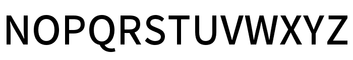 Noto Sans CJK KR Medium Font UPPERCASE