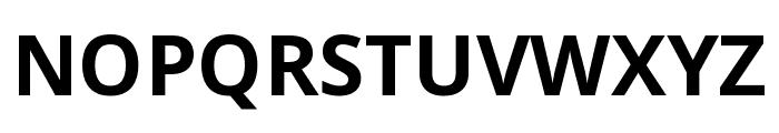 Noto Sans Condensed Bold Font UPPERCASE