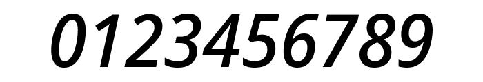Noto Sans Display Condensed Medium Italic Font OTHER CHARS