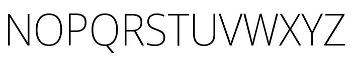 Noto Sans Display ExtraCondensed ExtraLight Font UPPERCASE