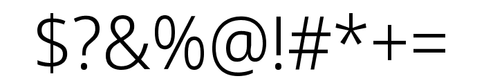 Noto Sans Display ExtraCondensed Light Font OTHER CHARS