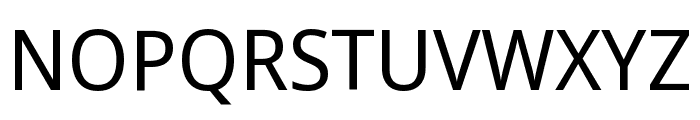 Noto Sans Display ExtraCondensed Font UPPERCASE