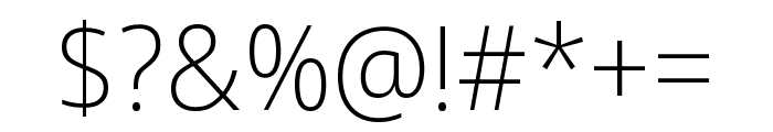 Noto Sans Display ExtraLight Font OTHER CHARS