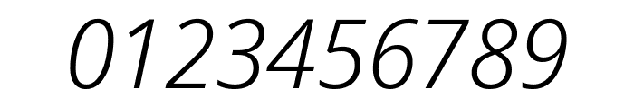 Noto Sans Display Light Italic Font OTHER CHARS