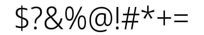 Noto Sans Display Light Font OTHER CHARS
