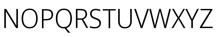 Noto Sans Display Light Font UPPERCASE