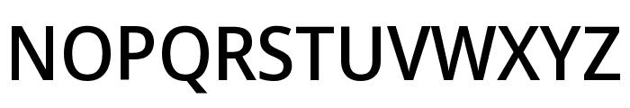 Noto Sans Display Medium Font UPPERCASE