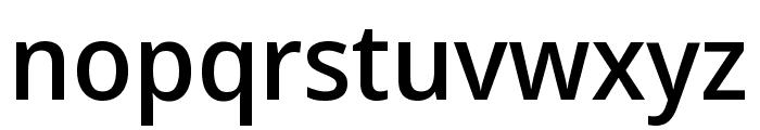 Noto Sans Display Medium Font LOWERCASE