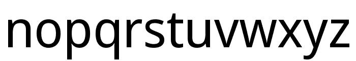 Noto Sans Display SemiCondensed Font LOWERCASE
