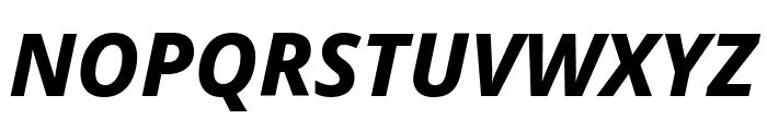 Noto Sans ExtraBold Italic Font UPPERCASE