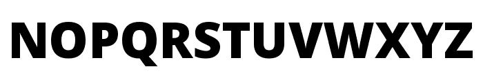 Noto Sans ExtraCondensed Black Font UPPERCASE